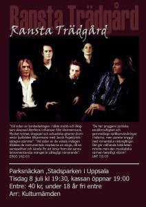 Affisch sommaren 2003 (Jakob Fogelqvist; Daniel Bergström, Johan Pahnke, Phillip Bastin och Benjamin Fogelqvist).